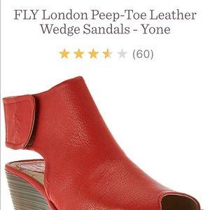 Fly London Yone - size 39.